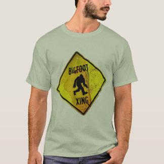 Bigfoot-Überfahrt-Shirt T-Shirt