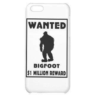 Bigfoot wollte Plakat iPhone 5C Hülle