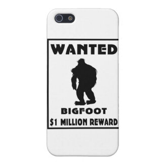 Bigfoot wollte Plakat Etui Fürs iPhone 5