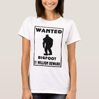 Bigfoot wollte Plakat T-Shirt