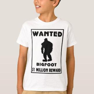 Bigfoot wollte Plakat T-Shirt