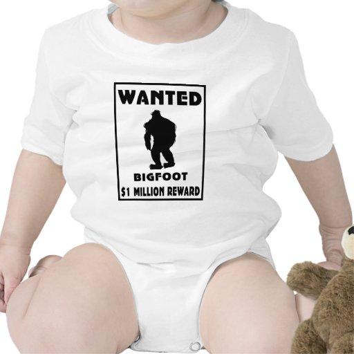 Bigfoot wollte Plakat Tshirt
