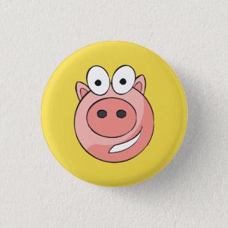 Biggy Piggy Abzeichen Runder Button 3,2 Cm