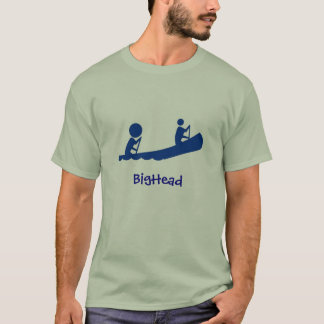 BigHead-Blau-Kanu T-Shirt