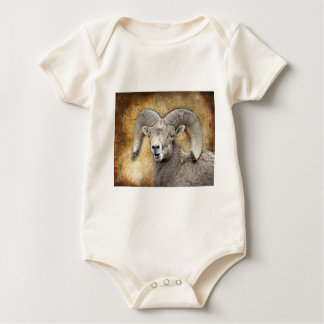 Bighorn-Schafe Baby Strampler