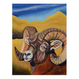 Bighorn-Schafe Postkarte