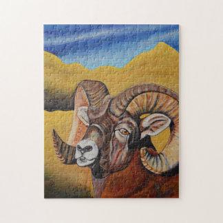 Bighorn-Schafpuzzlespiel Puzzle