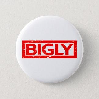 Bigly Briefmarke Runder Button 5,1 Cm