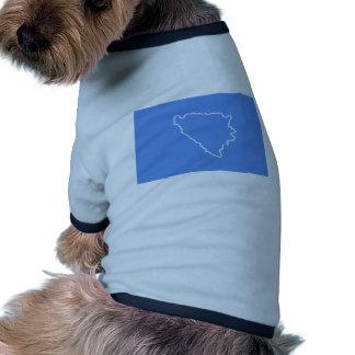 Bih erstes Set von Antrag 3 von Bosnien und von Hunde Shirt