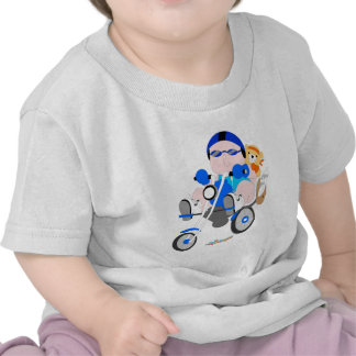 Biker baby boy t-shirt
