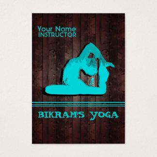 Bikrams Yoga - Geschäft, Zeitplan-Karte Visitenkarte