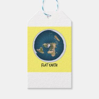 Bild der flachen Erde Geschenkanhänger