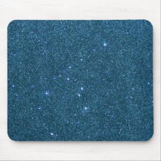 Bild des blauen trendy Glitters Mousepad