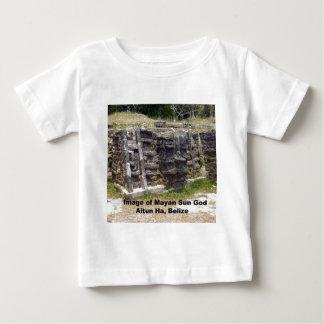 Bild des MayaSonnengotts, Belize Baby T-shirt