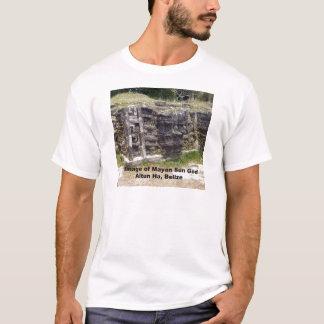 Bild des MayaSonnengotts, Belize T-Shirt