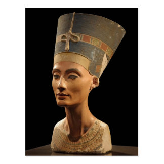 Bild des Nefertiti-Fehlschlags in Neues Museum Postkarte