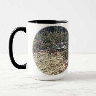 Bild des Rotluchses Tasse