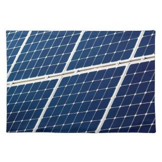 Bild einer SolarPowerplatte lustig Stofftischset