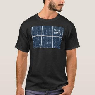 Bild einer SolarPowerplatte lustig T-Shirt