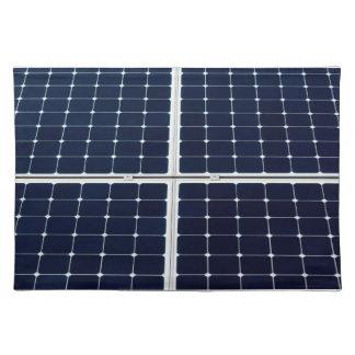 Bild einer SolarPowerplatte lustig Tischset