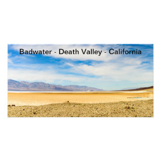 "Bild-Karte Badwater Death Valley Kalifornien 4X8 "" Karte"