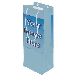 Bild-Schablone Geschenktüte Für Weinflaschen