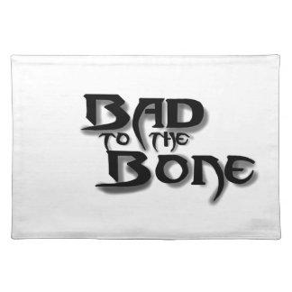 Bild, schlecht zum Knochen Tischset