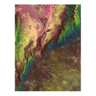 Bild Sierra de Velasco Satellite Postkarte