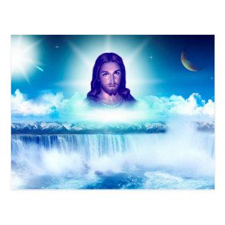 bild von Jesus Postkarte