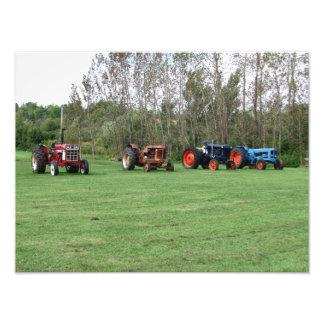 Bild von Neuschottland-Traktoren Fotodruck