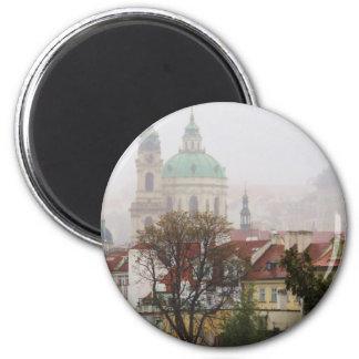 Bild von Prag Runder Magnet 5,1 Cm