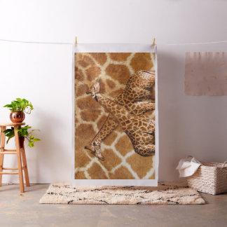Bild-Wahl-Gewohnheits-Gewebe der Giraffen-1A Stoff
