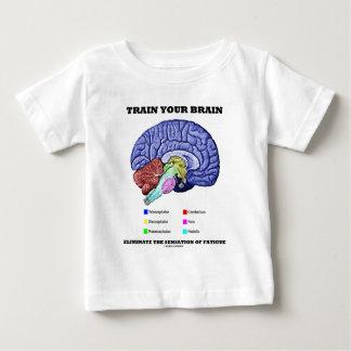 Bilden Sie Ihr Gehirn beseitigen Empfindung der Baby T-shirt