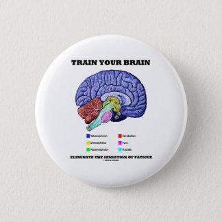 Bilden Sie Ihr Gehirn beseitigen Empfindung der Runder Button 5,7 Cm