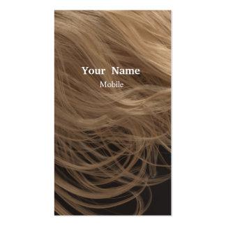 Bilden Sie Künstler - Haar-Stylisten Visitenkarten