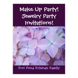 Bilden Sie Party! Einladungs-Schmuck-Party! Blumen 16,5 X 22,2 Cm Einladungskarte