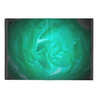 Bilder der Türkis-Rosen, nachgemachtes Glühen iPad Mini Etuis