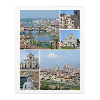 Bilder von Florenz Acryl Wandkunst