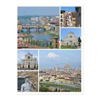 Bilder von Florenz Postkarte