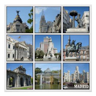 Bilder von Madrid-Sammlung Poster