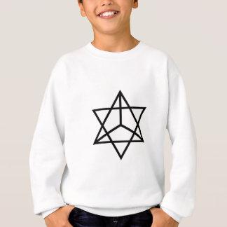 Bilder von Zahl 7: der vierflächige Stern Sweatshirt