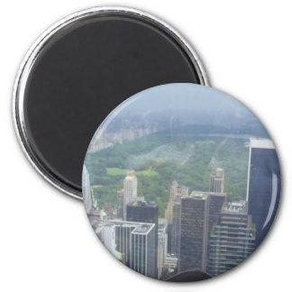 bildings auf Ferien Runder Magnet 5,1 Cm
