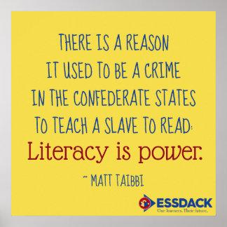 Bildung ist Power! Plakat