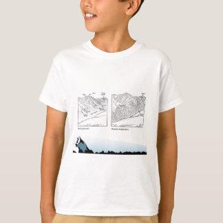 Bildung, Wissenschaft, Geografie, Gletscher T-Shirt