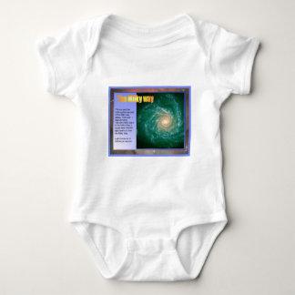 Bildung, Wissenschaft, Raum, Milchstraße Baby Strampler