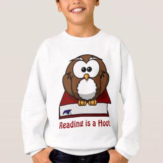 Bildungs-Bewusstsein: Lesung ist ein Schrei Sweatshirt