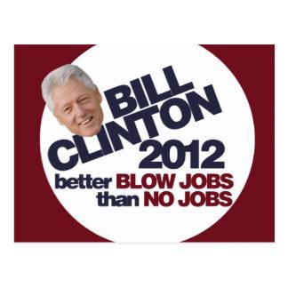 Bill Clinton 2012 Postkarten