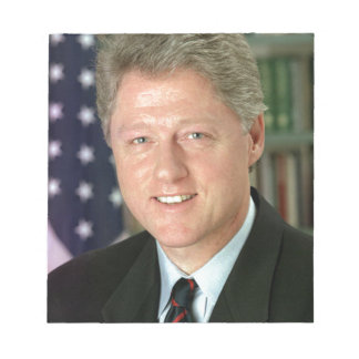 Bill Clinton Notizblock