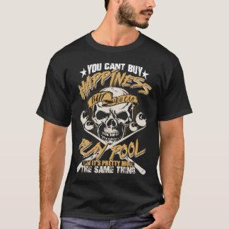 Billard ist mein Glück - heißer Billard T - Shirt
