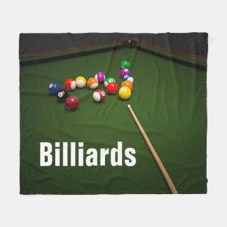 Billard-Pool-Ball-und Pool-Tabellen-Fleece-Decke Fleecedecke